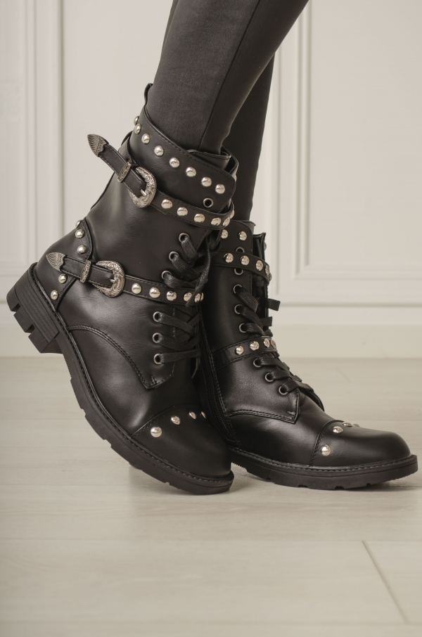 Boots - Kim svart