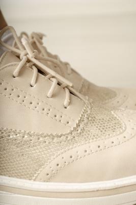 Sneakers - Vanessa beige