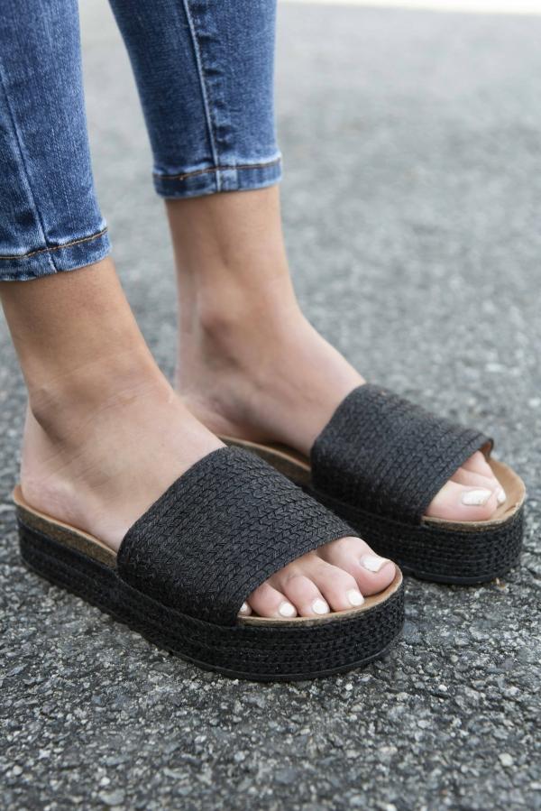Sandaler - Nina svart