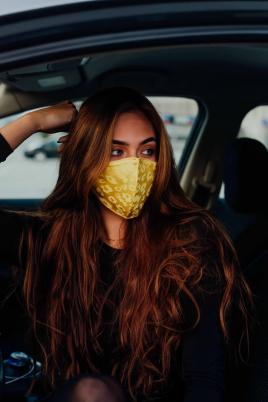 Maske - Gul sateng