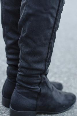Støvletter - Eline svart