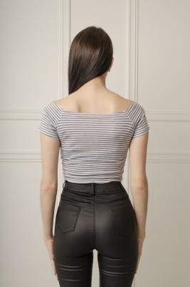 T-skjorte - Ally grå