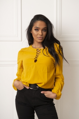 Skjorte - Melinda gul