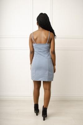 Kjole - Stine blå