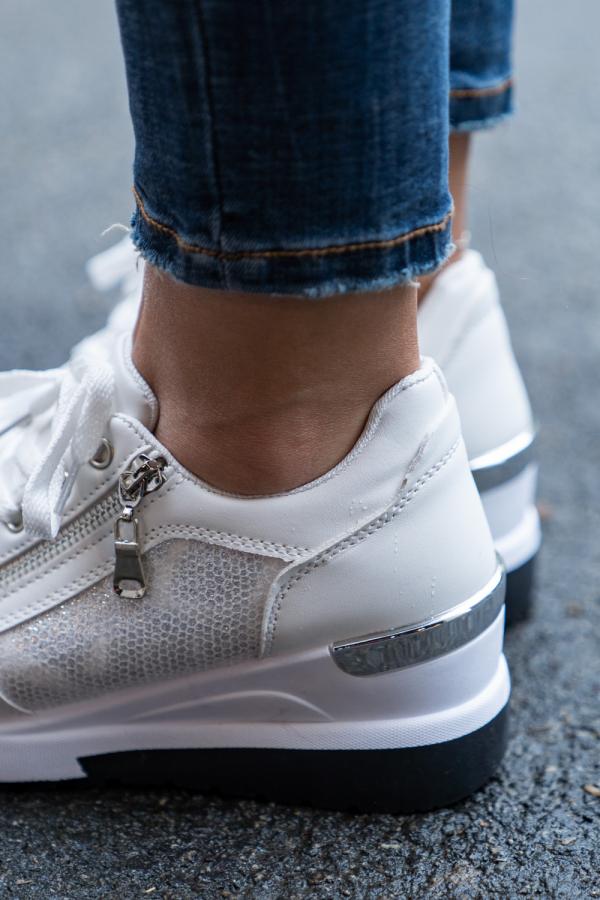 Sneakers - Liva hvit