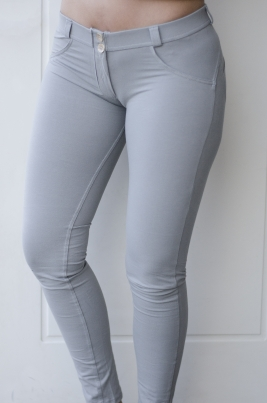 Bukse - Freddy WR.UP® Skinny Low Waist Light Grey (G14)