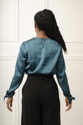 Skjorte - Olivia grønn