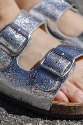 Sandaler - Ivy sølv