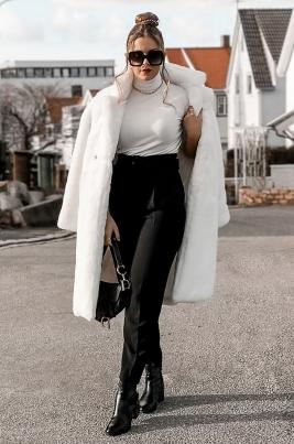 Jakke - North Exclusive Valentina Hvit