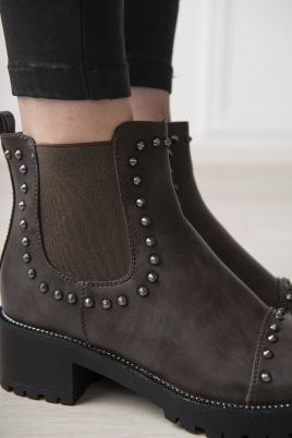 Boots - Cecilia grå