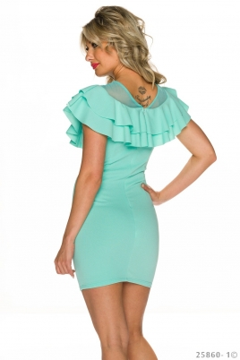 Kjole - Esmeralda turkis/grønn