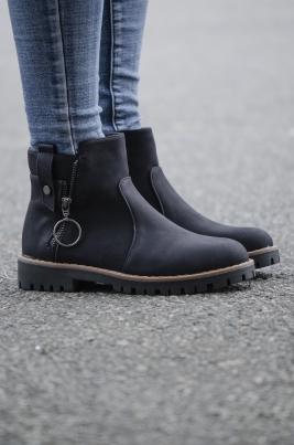 Boots - Andrea svart