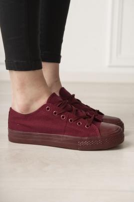 Sneakers - Tessa vinrød