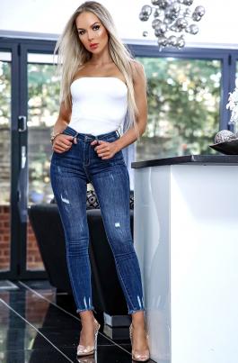 Jeans - Mavis blå