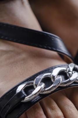 Sandaler - Kina svart