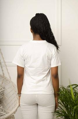T-Skjorte - Penny hvit