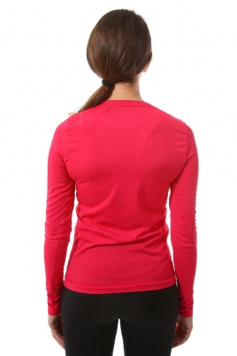 Treningsgenser - Craft Cool Seamless Long Sleeve Rosa