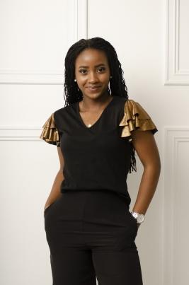 T-Skjorte - Alicia svart