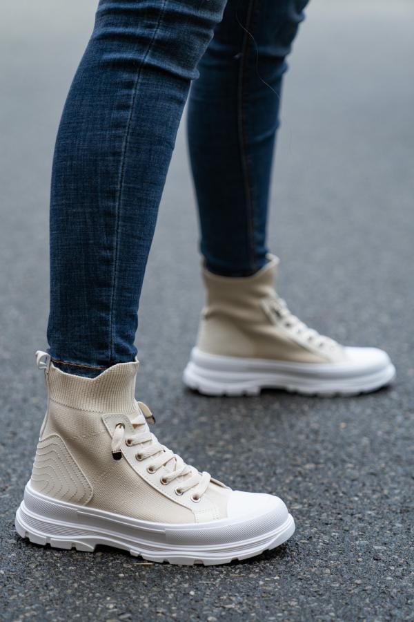 Sneakers - Esther beige