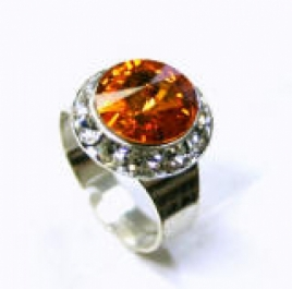 Swarovskiring - II ARN310 Orange