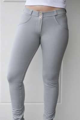 Bukse - Freddy WR.UP® Skinny Mid-Waist Light Grey (G230)