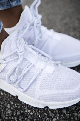 Sneakers - Kine Hvit/Grå
