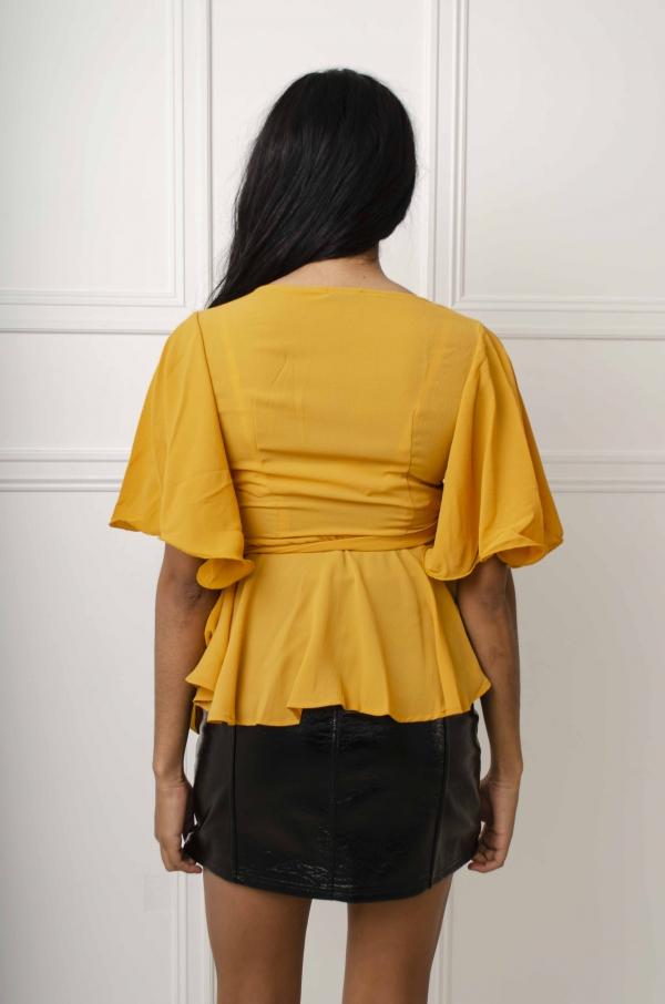 Skjorte - Candis gul