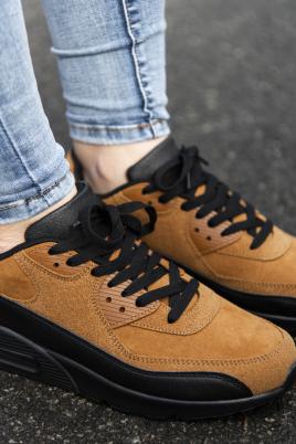 Sneakers - Kristine kamel