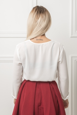 Skjorte - Emma hvit