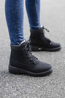 Boots - Camilla Svart Vinter