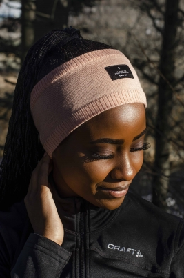 Craft -Urban knit headband Gammelrosa