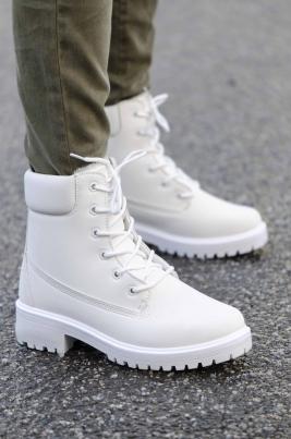 Boots - Camilla Hvit Vinter