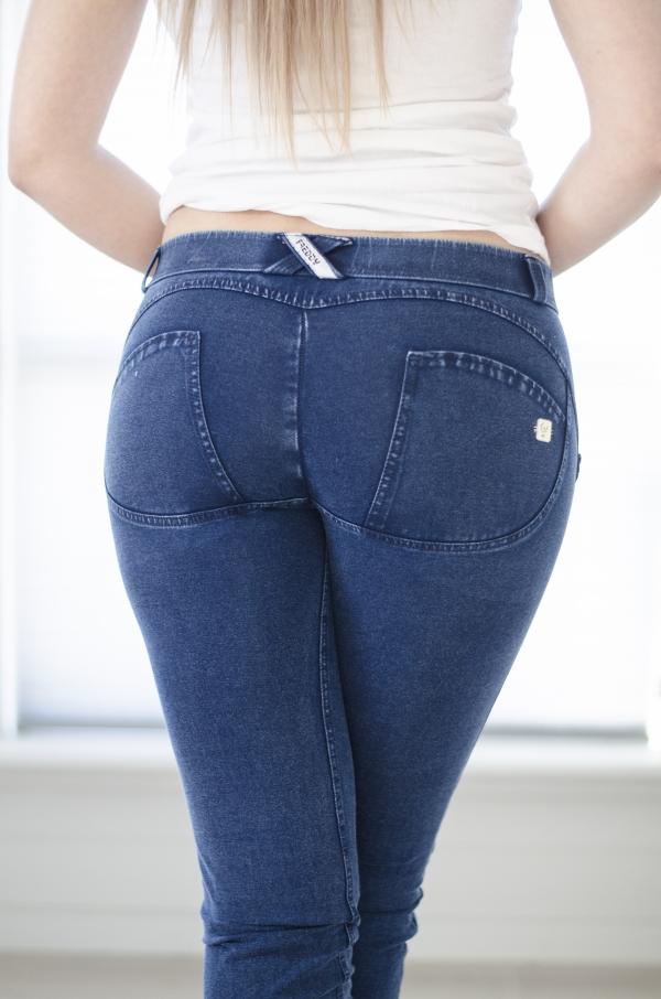 Jeans - Freddy WR.UP® Skinny Mid-Waist Dark Blue (J0B)
