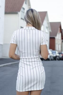 Kjole - Emma hvit