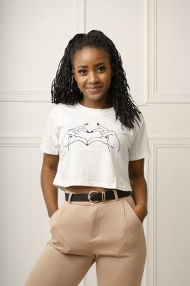 T-Skjorte - Tess hvit