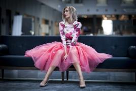 TuTu Skjørt - Blair rosa medium lengde