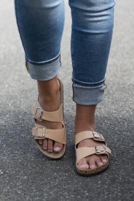 Sandaler - Stine beige