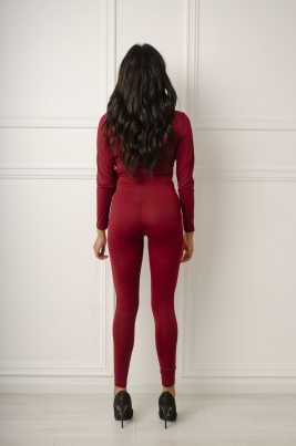 Jumpsuit - North Exclusive Ida burgunder