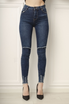 Jeans - Nicole blå