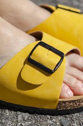 Sandaler - Synne gul