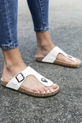 Sandaler - Sandra hvit