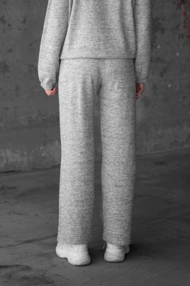 Bukse - Nora grå melange