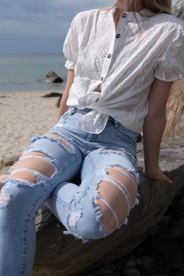 Jeans - Lise blå