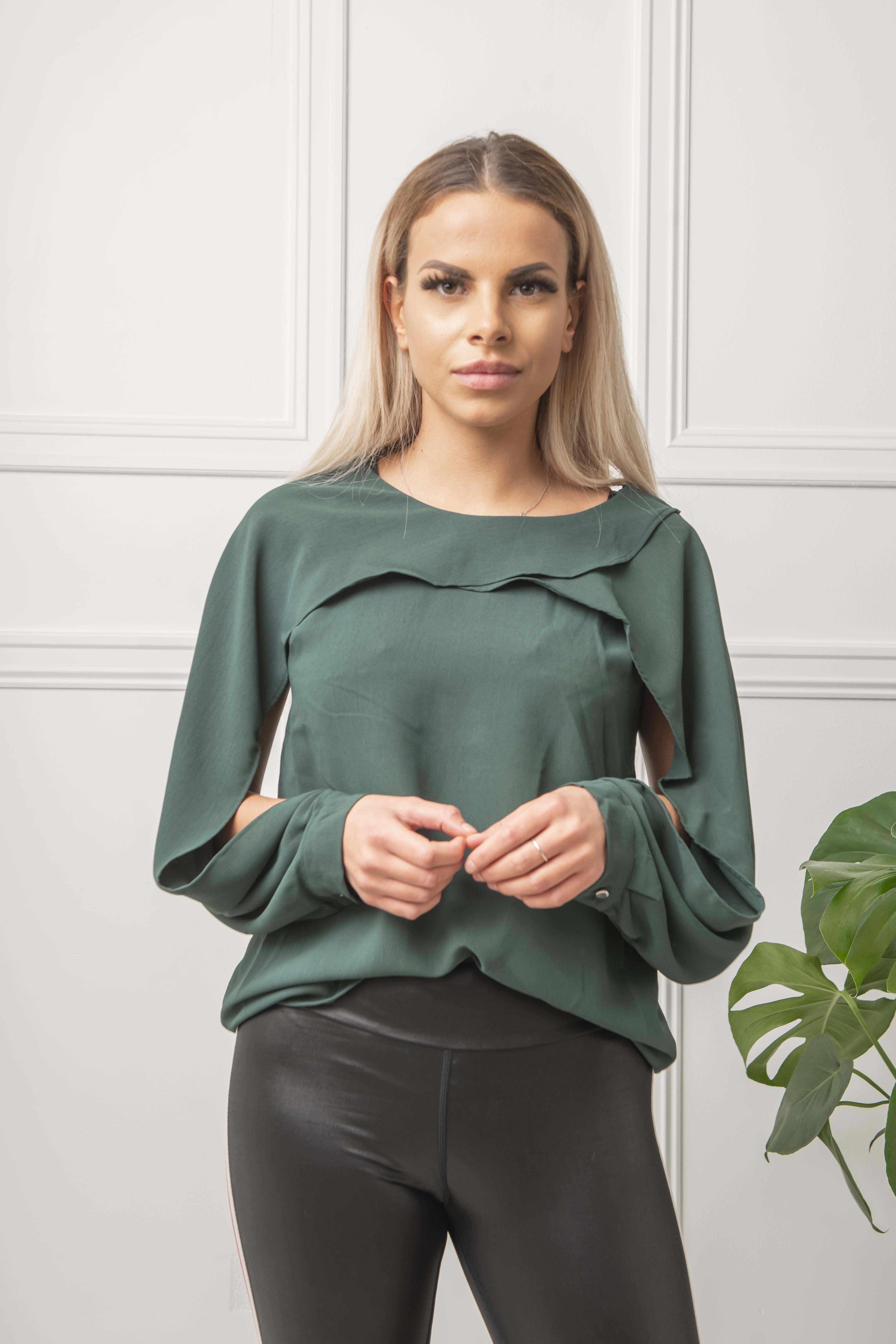 047b8a27 Motehus AS - Skjorte - Alma grønn