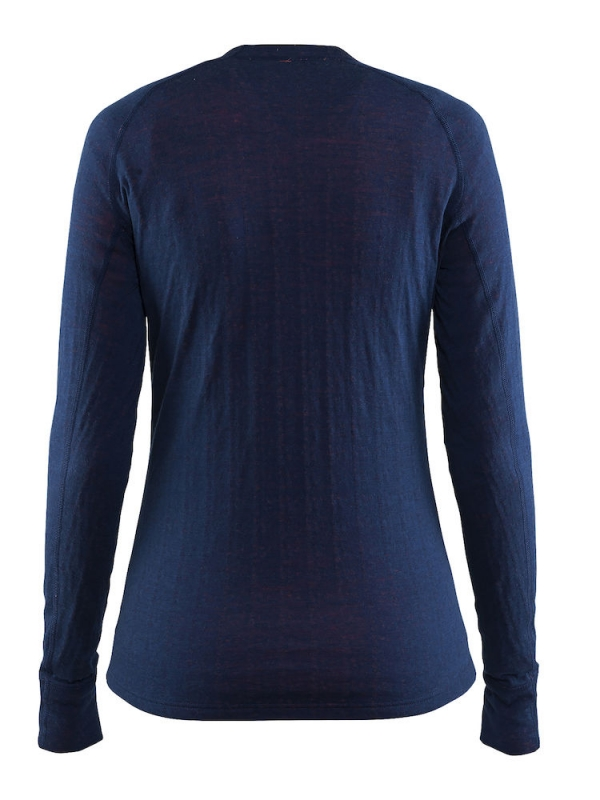 Craft - Warm Wool Nordic Crew Neck Deep
