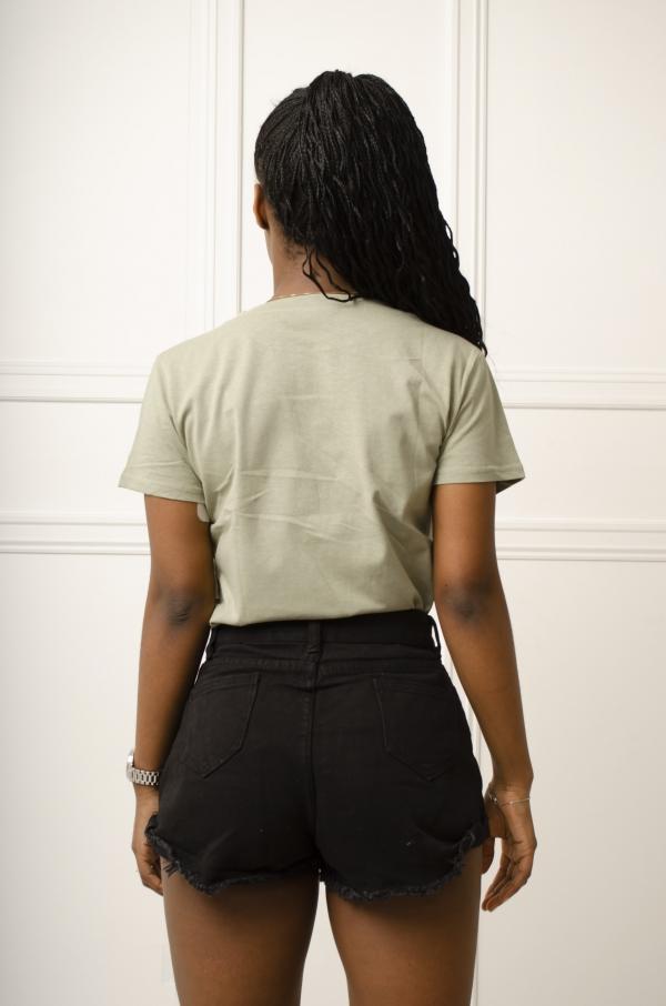 T-Skjorte - Piper grønn