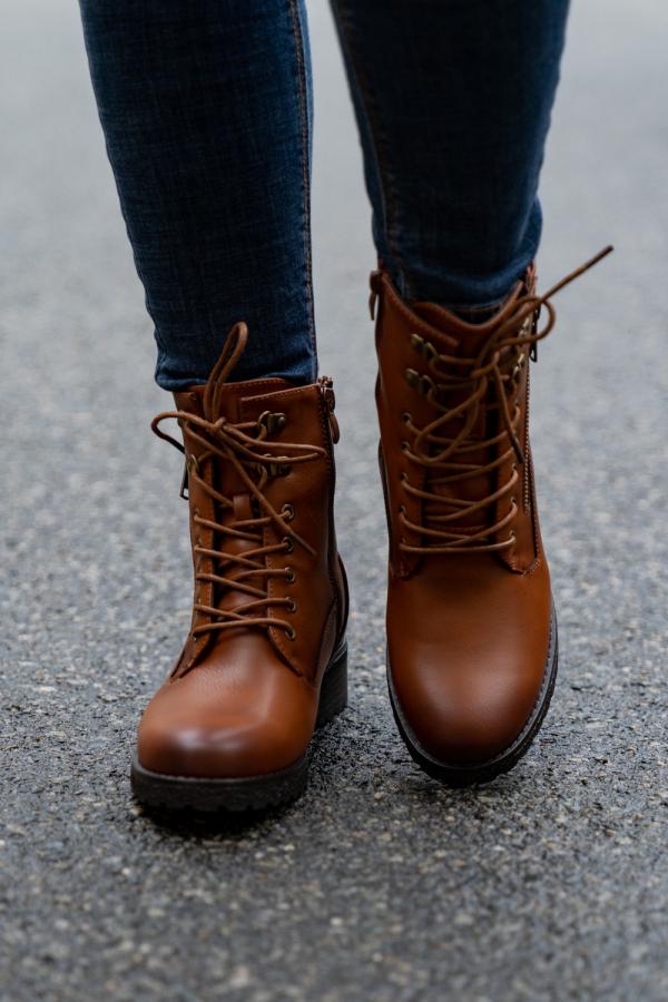 Boots - Freja camel