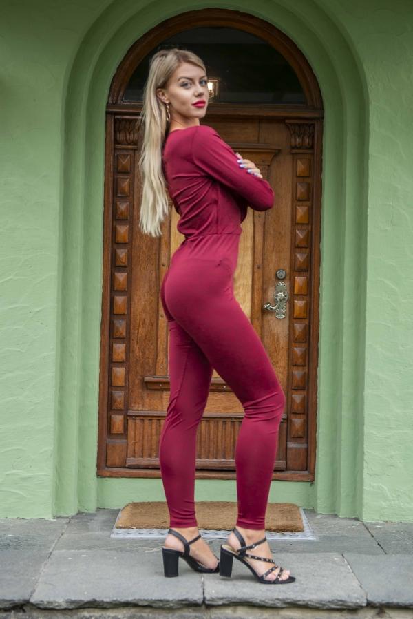 Jumpsuit - North Exclusive Ida burgunder