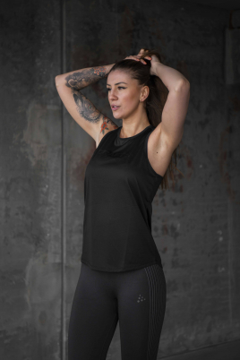 Craft - Core Essence Mesh Singlet W black