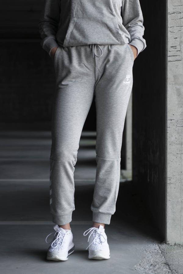 Hummel - NONI Regular Pants grå